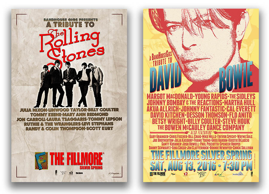 Band House Gigs Posters