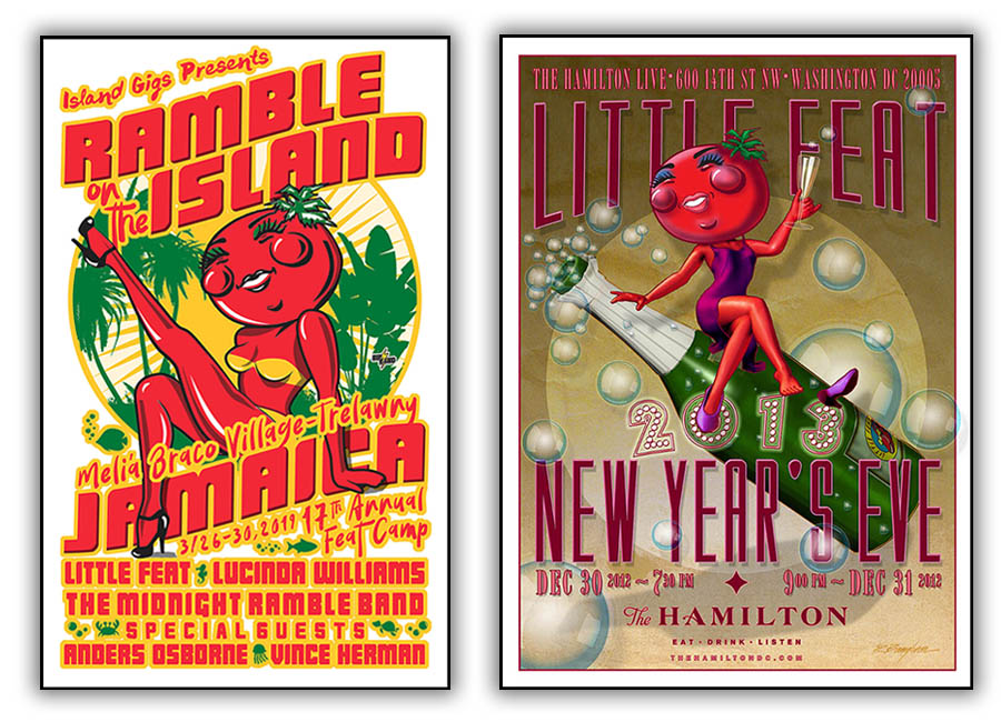 Little Feat Event Posters